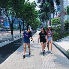 walking the 1km